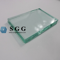 Top quality 19mm auto grade clear float glass