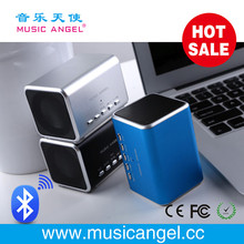 new gadgets 2014 unique design bluetooth speaker Music Angel original factory JH-MD05BT