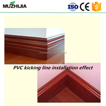 Plastic pvc marble skirting board baseboard moulding with factory price