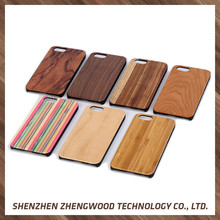 Factory sale original wood mobile phone case wooden custom case For Apple iPhone