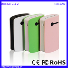 New 8400mAh Portable Power Bank AA Battery Charger For Huawei Android
