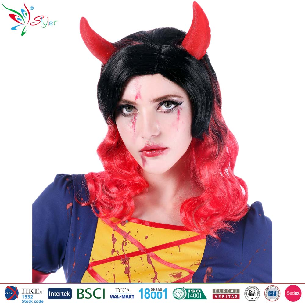 Styler Brand cheap synthetic hair halloween party wig female vampire cosplay wig