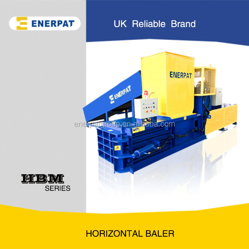 Horizontal Scrap Cardboard Baler/Waste Plastic Bottle Baler