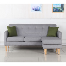 New shape L shape fabric sofa, living room sofa lounge chair