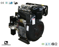 20hp air cooled 4-stroke direct injection twin cylinder diesel engine for sale