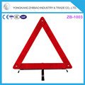 2017 supplier of the latest car reflective triangle warning signs