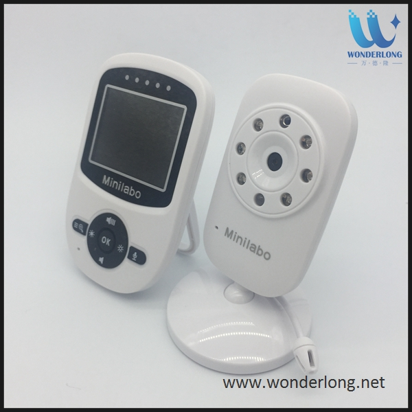 New 2.4GHz LCD Digital Video Baby Monitor Night Vision Music Temperature Display mini home ip camera