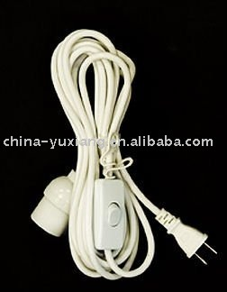 UL extension power cord with 303 switch