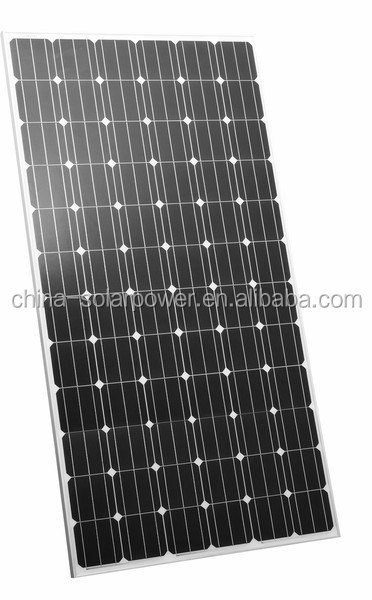 A grade cell 300w monocystalline solar panel