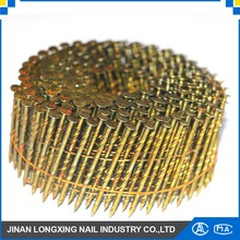 welding copper coated iron wire coil nails