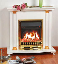 Artificial Free Standing High Quality Wood Fireplace
