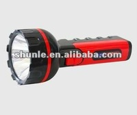 High power 1 Watt LED rechargeable light torch 9 led flashlight SL-3319