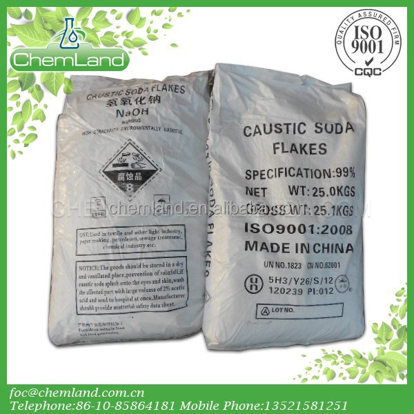 High quality 99%up Caustic soda/flakes/sodium hydroxide/NaOH