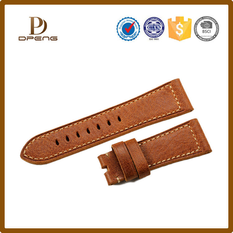 New arrival watch strap,wholesales muliti color leather watch strap