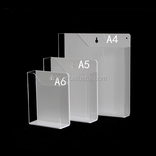 Factory direct selling high quality acrylic booklet leaflet brochure stand holder made in China