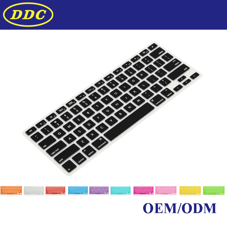 Full protection keyboard slim cover for Macbook laptop with box package
