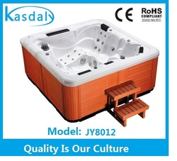 2014 New invention Acrylic material whirlpool massage hot tubs, outdoor spa