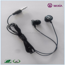 Chinese Headphone Manufacturer 3.5mm silicon tip Headset Ear Bud