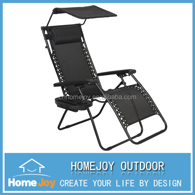 High quality portable reclining chair, folding chairs with canopy