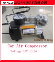 12 heavy duty car air compressor, air pump, tire inflator