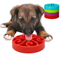 Best selling Dog Slow Eating Pet Round Bowl
