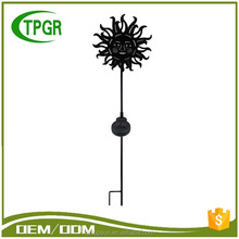 Alibaba Email Address Mordern Home Decor Metal Stake Garden Led Outdoor Light Solar