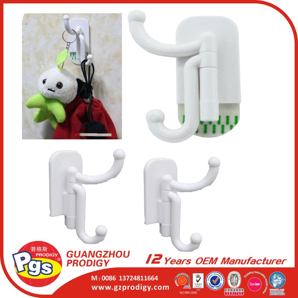 multi use plastic sticky towel hooks magic ahesive robe hook