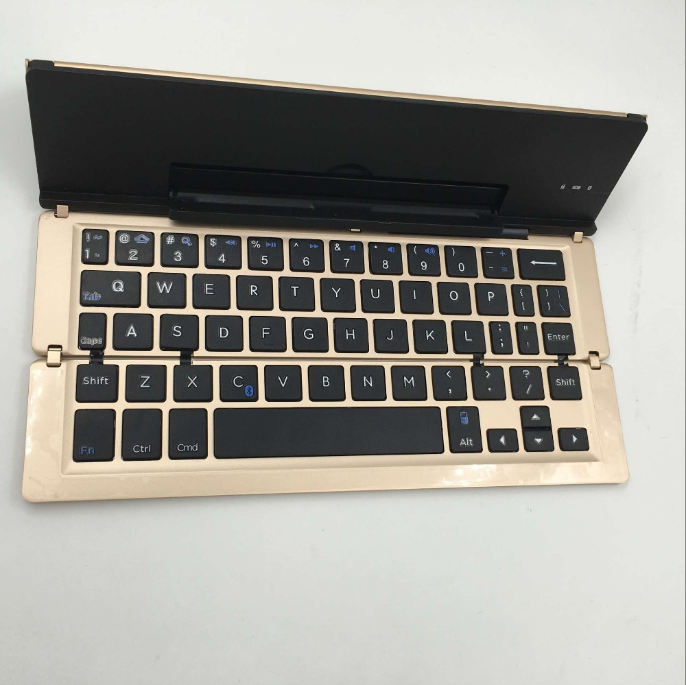 New mechanical keyboard, mini folding keyboard bluetooth for Android ISO Windows Tablet PC