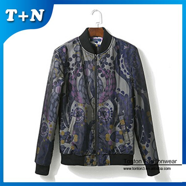 mens silk safety winter korean jackets for men