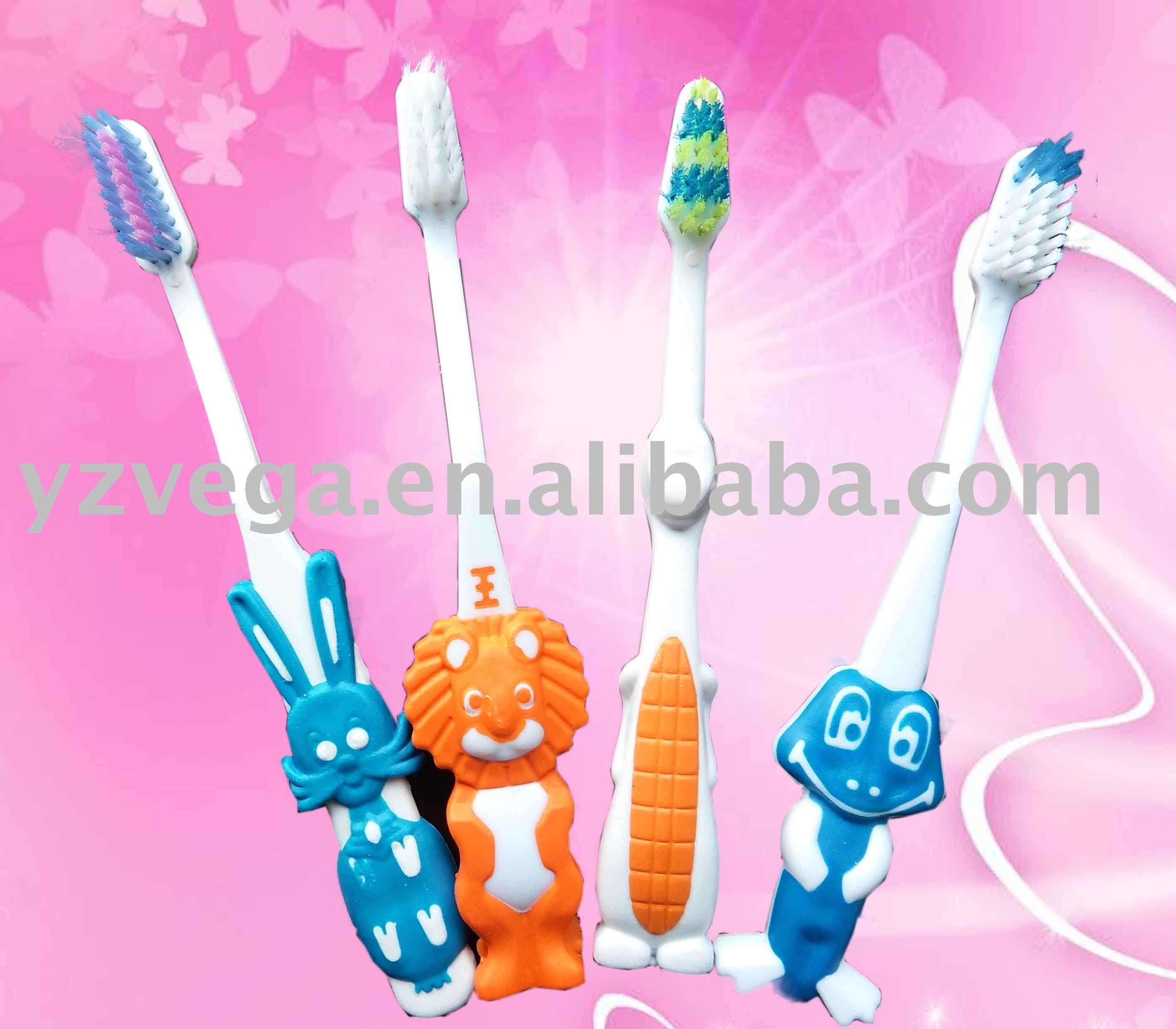 plastic Kids toothbrushes