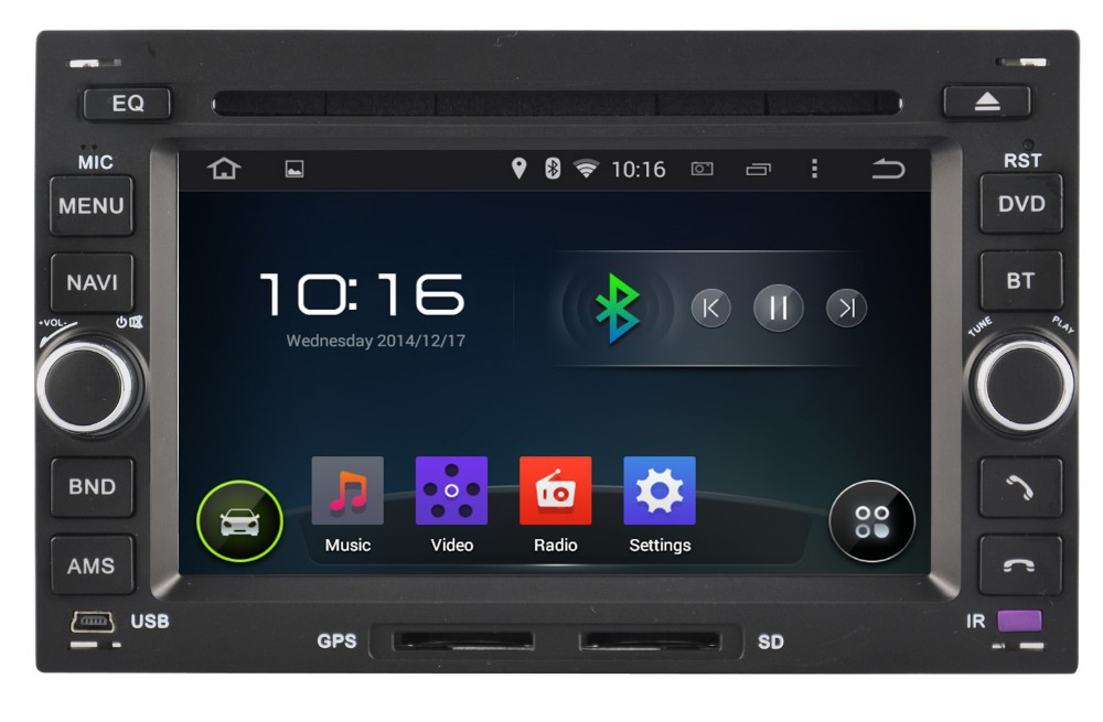 WITSON ANDROID 4.4 FOR VW T5 CAR RADIO WITH 1.6GHZ FREQUENCY DVR SUPPORT WIFI 3G BLUETOOTH GPS