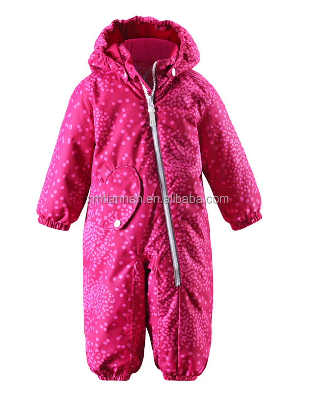 2016 baby girl's warm keeper clothes kids with abrasion resistant and windproof clothies kids