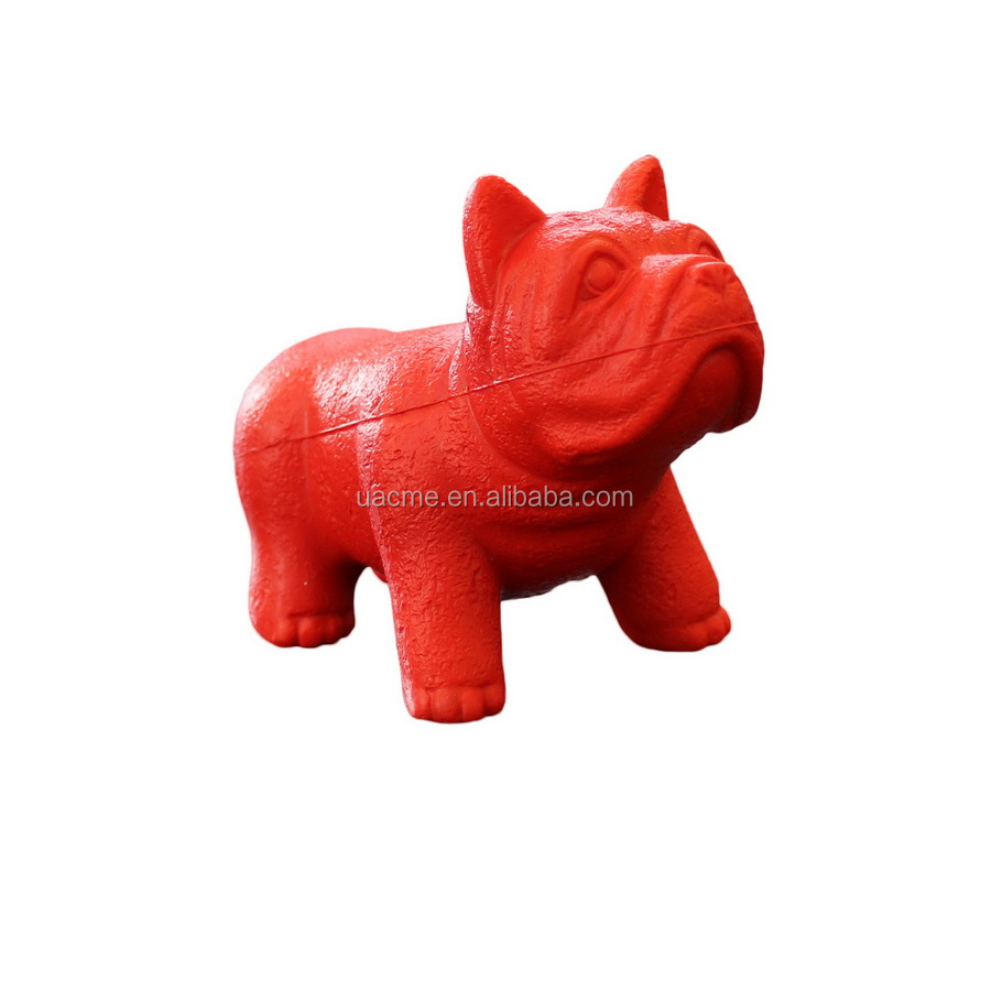 cute dog shaped stress ball / dog shaped stress reliever / anti stress ball toy in dog shape