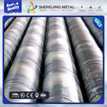 spiral steel pipe , SSAW , field in oil and gas made in TJSJ group