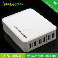Universal 6-Port USB Fast Charger Colorful USB Charger