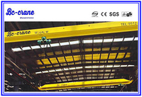 Light Duty Top Roof Traveling Motor Driven Electric Hoist 2 ton Single One Beam Girder Overhead Bridge Crane for sale
