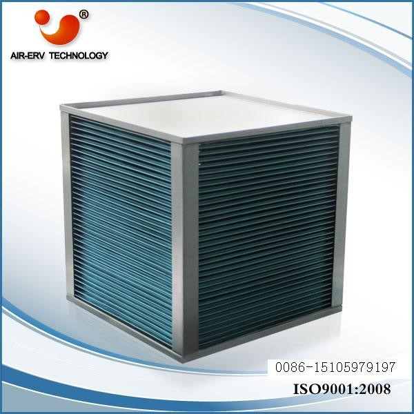 ERA-01 plate heat exchangers core air recuperator with air ventilation system