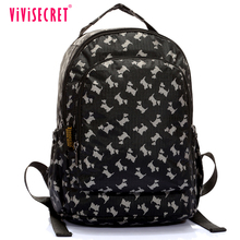 Vivisecret school bags black schoolbags small cute backpacks for teens wholesale China