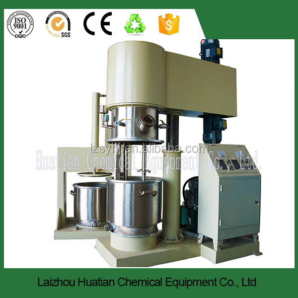 Double Planetary Power Mixer/Hydraulic Discharging Machine / Glue Making Machine