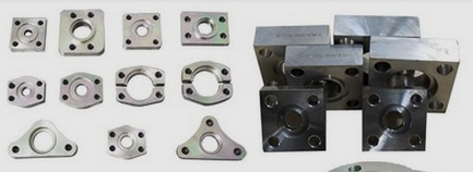 Triangular flange, square flange, irregular flange
