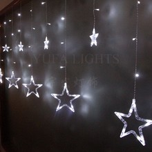 New Style Outdoor Christmas Star Lights,LED Icicle Light For Decoration
