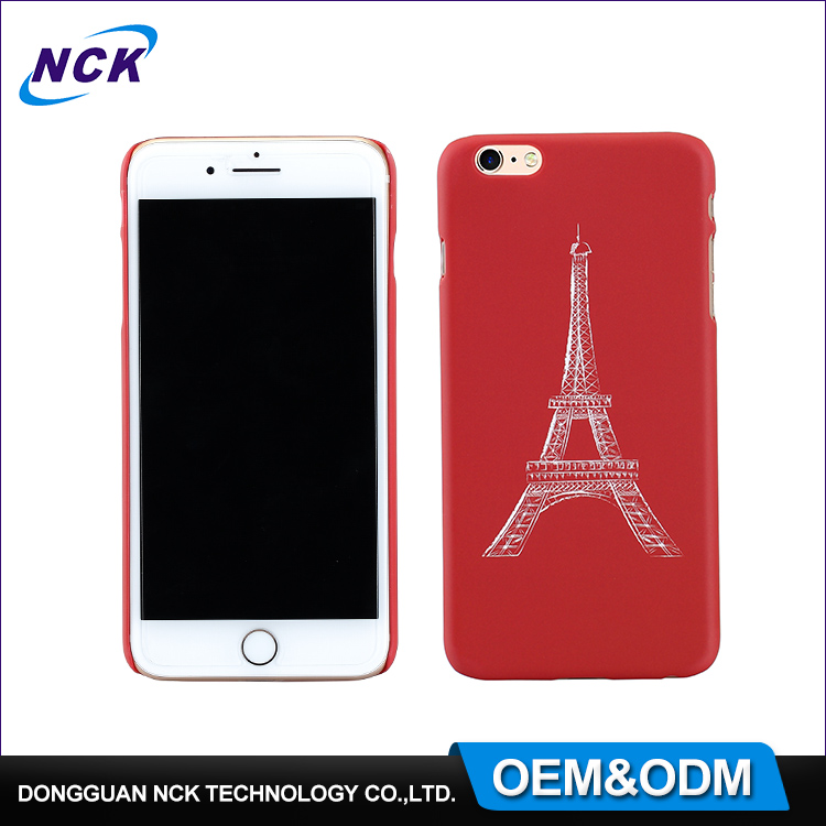 HD printing custom design PC/TPU/ABS/silicon water transfer free sample cell phone case cover for iphone 6 7 plus