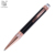 2019 High Quality Personalized black hotel gift metal roller ball pen with logo