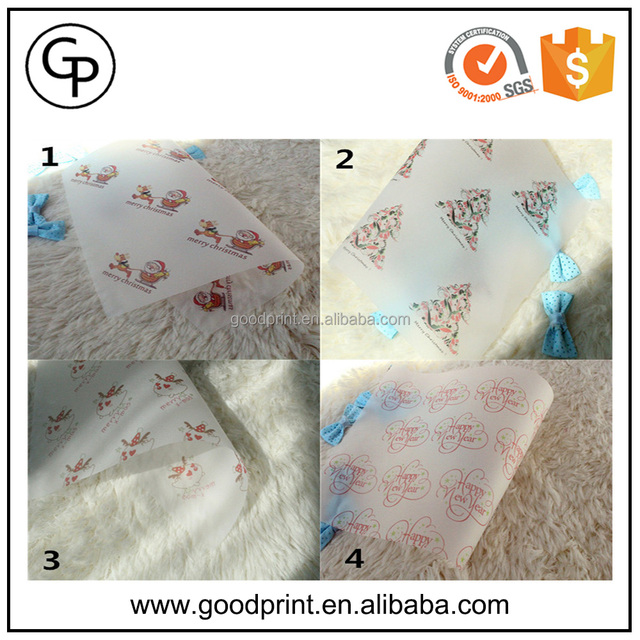 Custom printed wax paper for soap / Soap wrapping paper