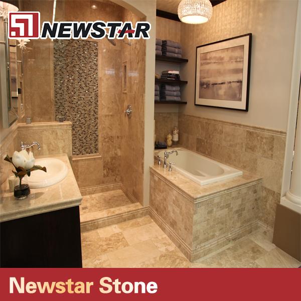 Newstar Honed Discount Bathroom Beige Travertine Shower Walls Buy Travertin