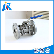 Many standards flange widely used stainless steel flange ball valve