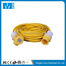 Cost price hot selling ip44 rubber extension lead