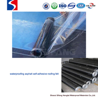 sticky rubber self-adhesive modified asphalt waterproofing materials