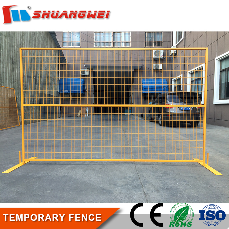 professional Removable Powder coated outdoor metal fence