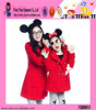 Fashion Hot Princess Clothes Wholesale Woolen Warm High Quality New Casual Mother Child Clothes